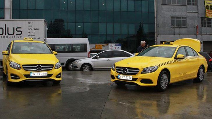 İstanbul'lular 'lüks taksilere' kavuşuyor