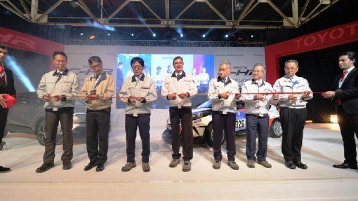 """Toyota Otomotiv Sanayi Türkiye """"Toyota C-HR"""" seri üretimine başladı."""
