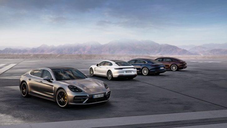 Porsche Panamera ailesinin yeni üyeleri Los Angeles'da