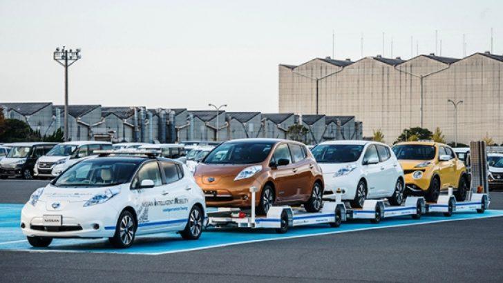 Nissan Sürücüsüz Araç Çekme Sistemini Devreye Aldı