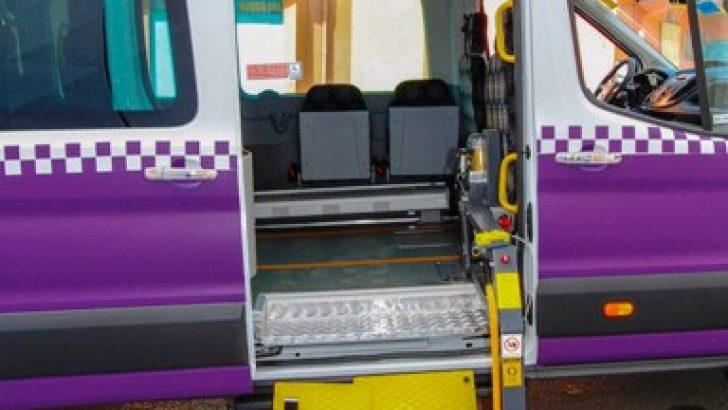 Engelli Transit'ler Teslim Edildi