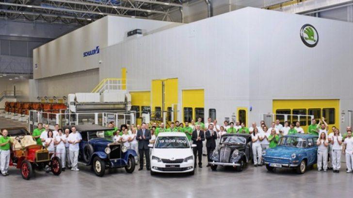 121 Yıllık Skoda, 19 Milyonuncu Aracını Üretti