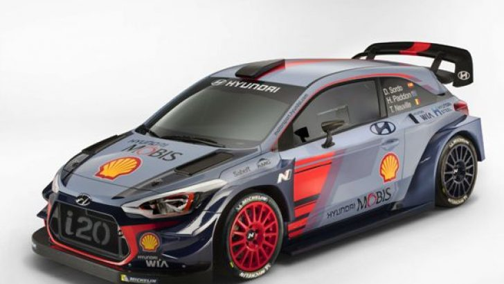 Hyundai Motorsport, 2017 i20 Coupe WRC'yi Sunar.