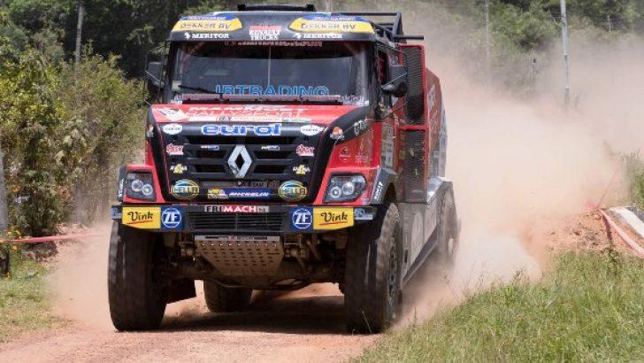 Renault Trucks 3. defa Dakar Rallisi'nde