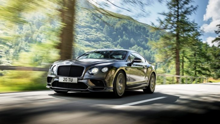BENTLEY CONTINENTAL SUPERSPORTS :