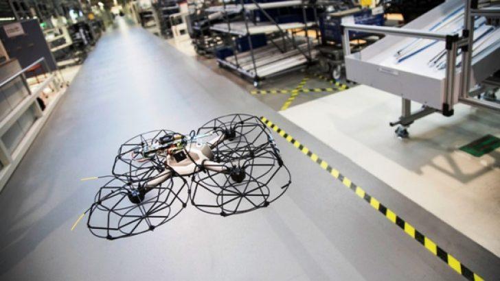 Otomobil üretiminde drone devri başlıyor