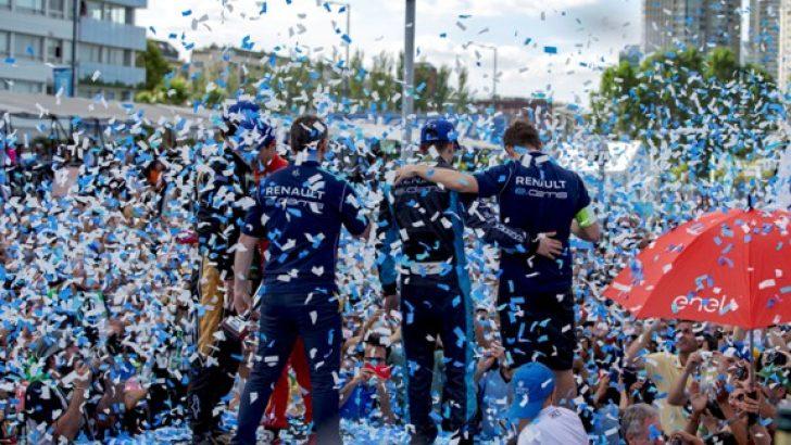 Renault e.dams Buenos Aires yarışını kazandı