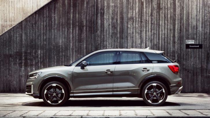 """Audi Q2'ye """"Mükemmel Tasarım"""" ödülü"""