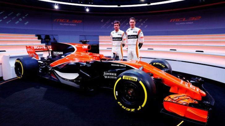 McLaren-Honda yeni MCL32'yi tanıttı