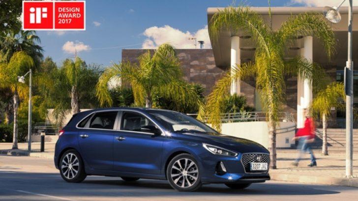 Yeni Nesil Hyundai i30'un Tasarımı Ödülle Tescillendi.