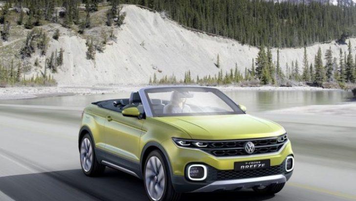 """Volkswagen'in Üstü Açık SUV Konsepti """"T-Cross Breeze"""""""