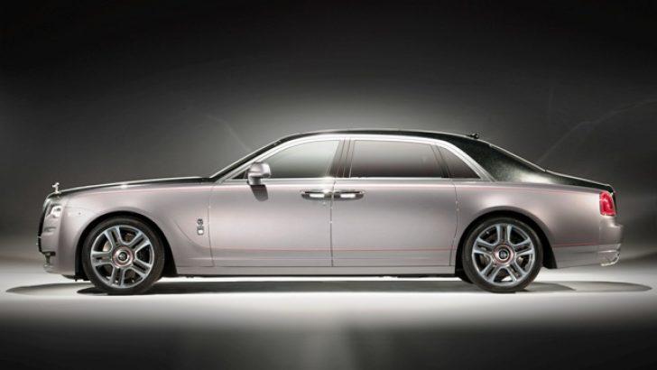 Elmas Kaplamalı Boyalı Rolls-Royce