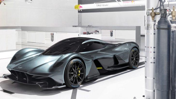 MICHELIN ve Aston Martin Valkyrie