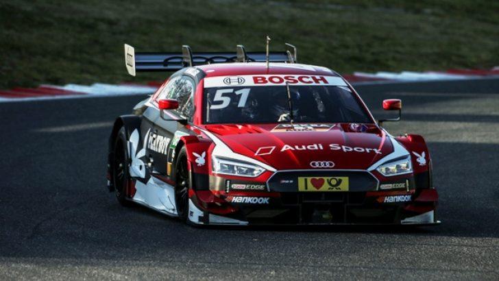 Audi'nin DTM Canavarı Piste Çıktı