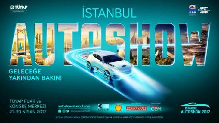 """İstanbul Autoshow 2017, """"Geleceğe Yakından Bakın"""" temasıyla açıldı."""