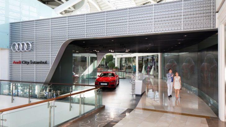Audi City'ye 1,5 milyon ziyaretçi