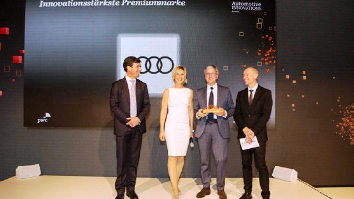 Audi Premium segmentin en inovatif otomobil markası seçildi