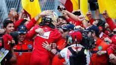 Ferrari 16 yıl sonra Monaco'da kazandı