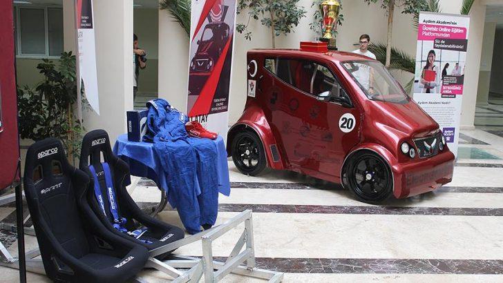 PAÜ'nün elektrikli otomobiline yerli motor