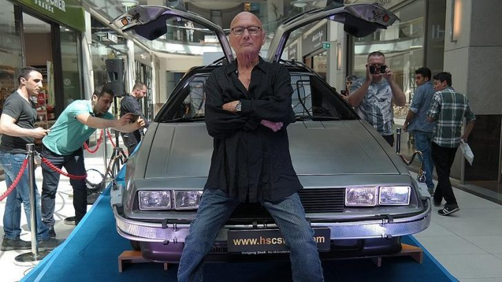 """Back to the future"" ın, DeLorean'ı"