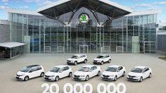 20 milyon SKODA üretildi.