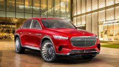 Mercedes-Maybach Ultimate Luxury SUV konsepti