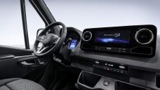 Mercedes-Benz, yeni IoT Sprinter kokpitini paylasti
