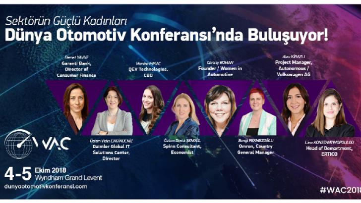 Otomotiv Sektörünün Direksiyonundaki Güçlü Kadınlar  İstanbul'da Buluşuyor