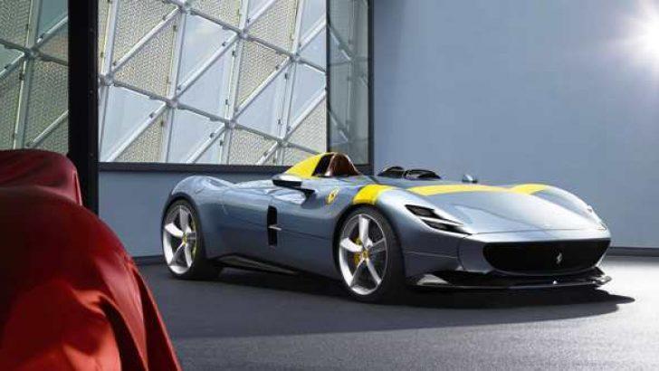 Ferrari Monza SP1'e Altın Tasarım Ödülü!
