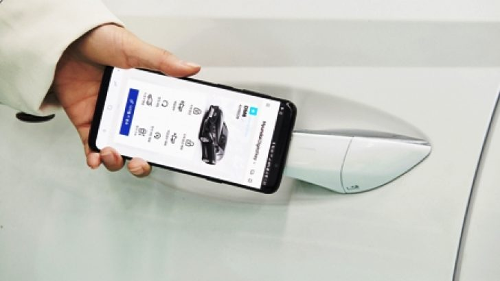 Hyundai, Modellerinde Dijital Anahtar Kulllanmaya Başladı.