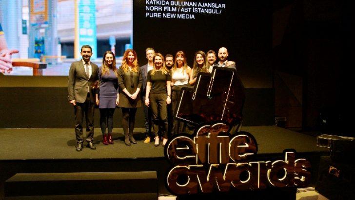OPET, gerçek bir 'Kadın Gücü' hikayesi ile Altın Effie'nin sahibi oldu