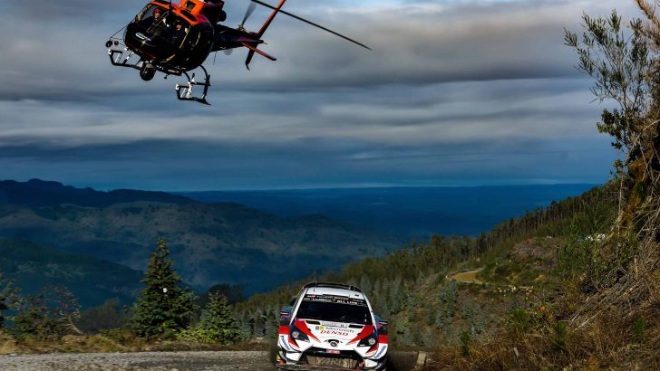 Toyota, Yaris WRC ve Tanak ile WRC Şili Rallisi'nin Galibi Oldu