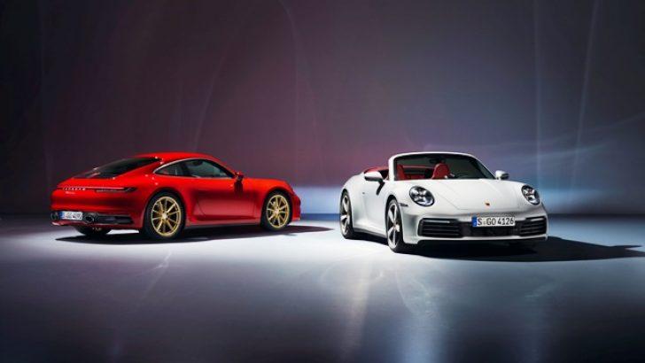 911 Carrera Coupé ve 911 Carrera Cabriolet