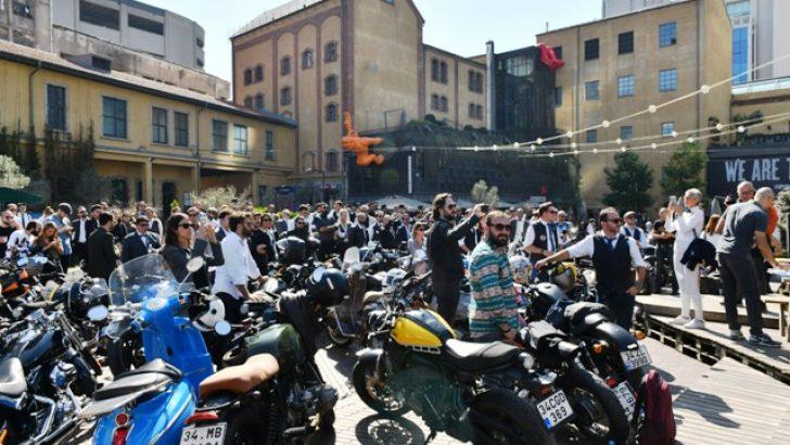 Centilmen motosikletçiler prostat kanseri için Yapı Kredi bomontiada'da bir araya geldi