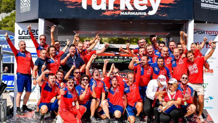 WRC TÜRKİYE RALLİSİ'NDE  DUBLE YAPTI