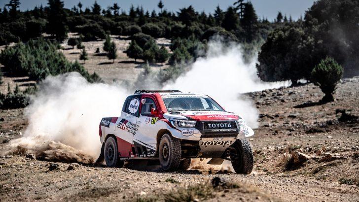 Toyota Gazoo Racing 2019 Fas Rallisi'nden de Zaferle Döndü