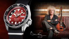 "Seiko 5 Sports, Brian May'in efsanevi gitarı "" Red Special ""ı anıyor !"