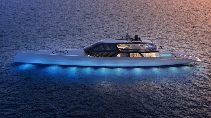 """ICE Kite"" Superyacht"