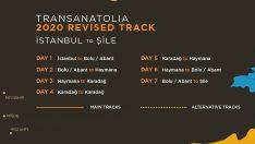 TRANSANATOLIA'nın rotası düzenlendi