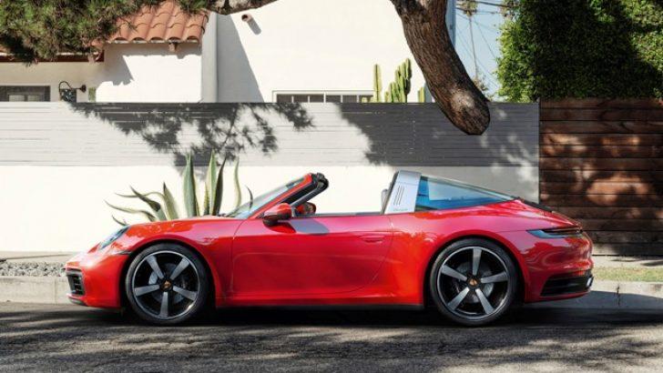 Yeni Porsche 911 Targa