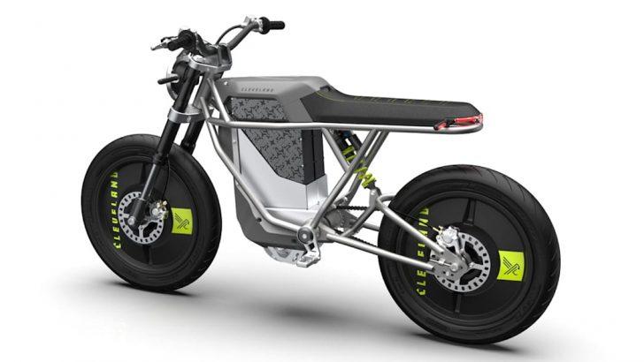 Cleveland CycleWerks'den, retro-fütürist tasarıma sahip Falcon elektrikli motosiklet