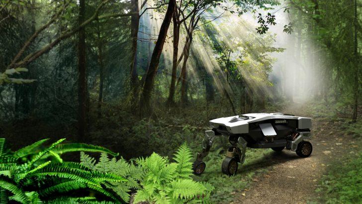 Hyundai'den Yeni Bir Robot Daha: TIGER-X.