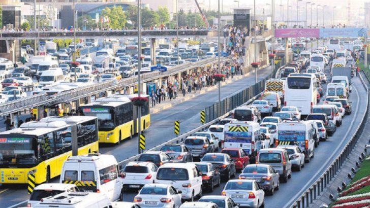 Ocak ayında 117 bin 313 adet taşıtın trafiğe kaydı yapıldı.