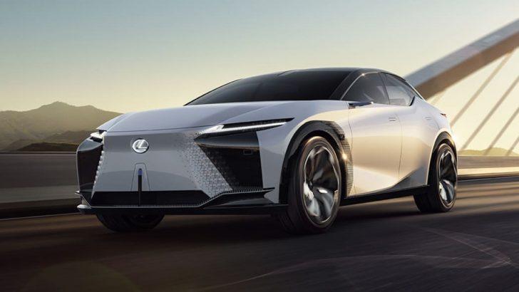 """LEXUS'tan """"otomobil alt yapısı"""" : LF-Z"""