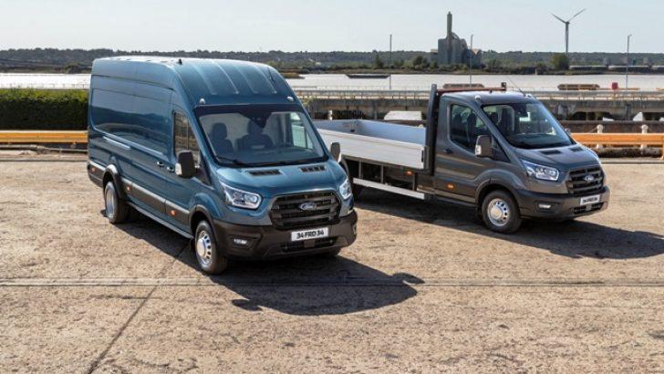 Yeni 5 tonluk Ford Transit 'van' ve 'kamyonet' Türkiye'de