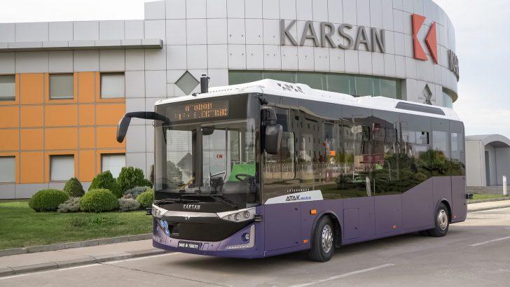 Avrupa ve Amerika'nın İlk Seri Üretim, Sürücüsüz Otobüsü Otonom Atak Electric Yollara Çıkıyor!