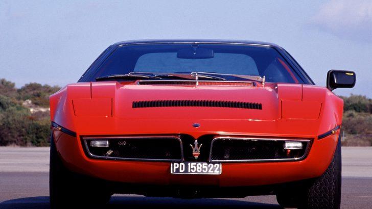 """Maserati """"Bora"""" 50 Yaşında"""