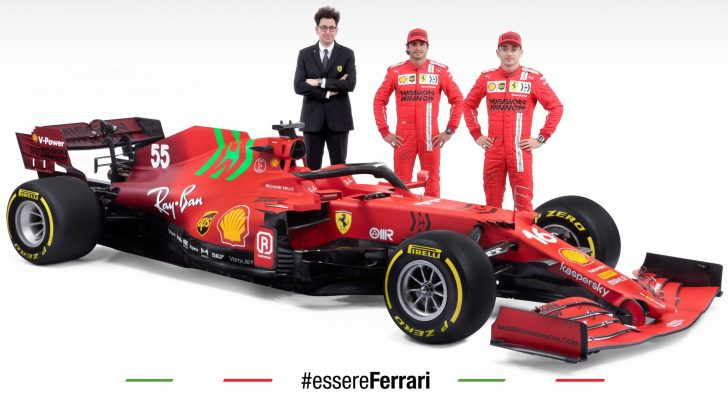 Scuderia Ferrari,SF21'i Tanıttı