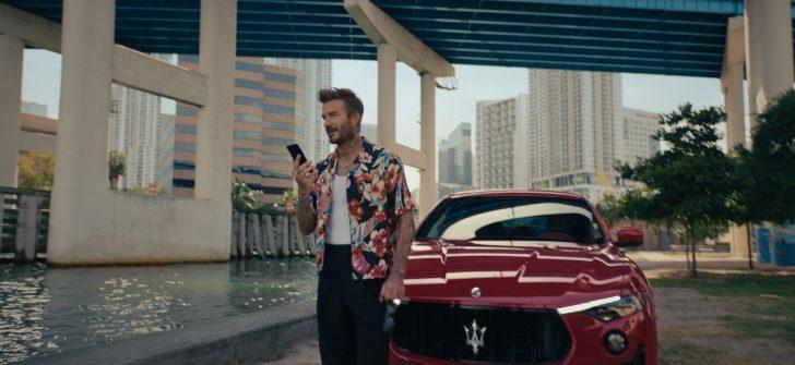 Maserati ve David Beckham