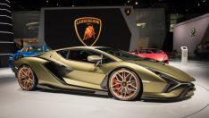 Elektrikli Lamborghini 2025'de